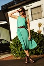 Black-jeffrey-campbell-shoes-aquamarine-pleated-we-are-rubbish-dress