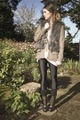 Dark-brown-boots-steve-madden-shoes-tan-loeffler-randall-jacket-eggshell-chu