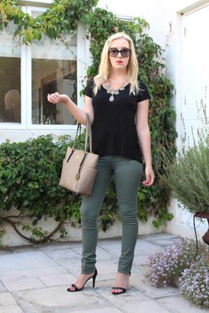 cotton on jeans - Michael Kors bag - cotton on top
