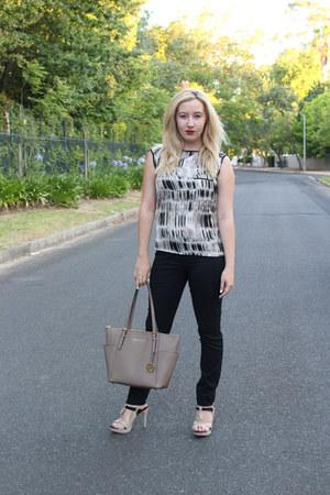 Michael Kors bag - G Couture blouse