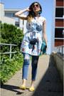 Blue-zaful-shirt