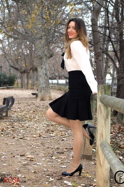 20f86d2ecc White Mango Blouses, Black Mango Skirts  