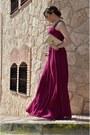 Hot-pink-tintoretto-dress