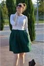 Forest-green-aliexpress-skirt