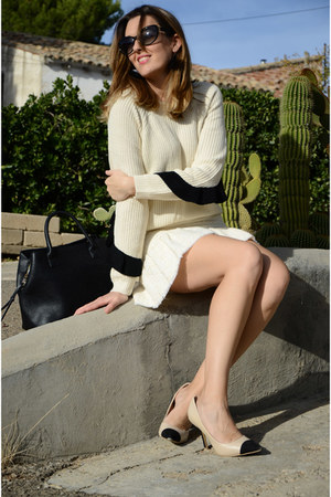 beige zaful sweater