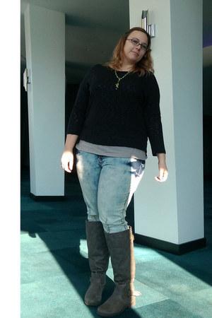 sky blue Junarose jeans