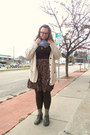 Olive-green-fluevog-shoes-cream-urban-outfitters-cardigan