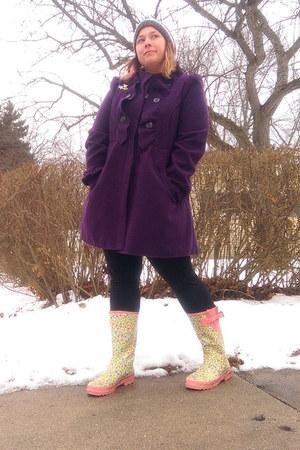 purple Jolt coat