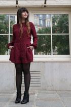 Zara boots - polka dots asos romper