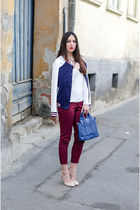 Zara heels - clockhouse jacket - PERSUNMALL bag - Zara pants