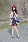 Tan-persunmall-coat-ruby-red-ecua-andino-hats-hat-h-m-sweater