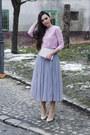 Pink-front-row-shop-top-tulle-oasap-skirt-nude-zara-heels
