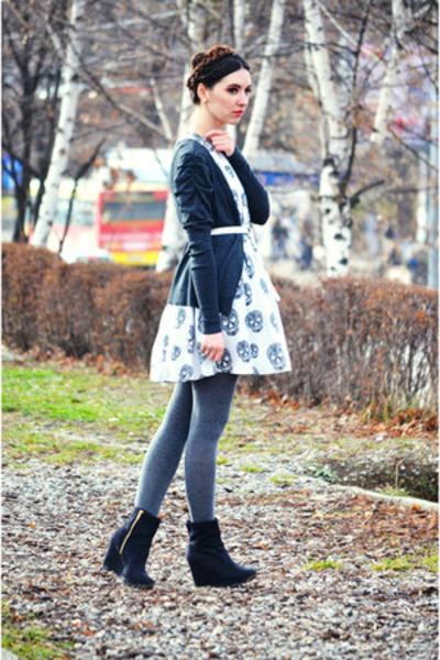 skull H&M dress