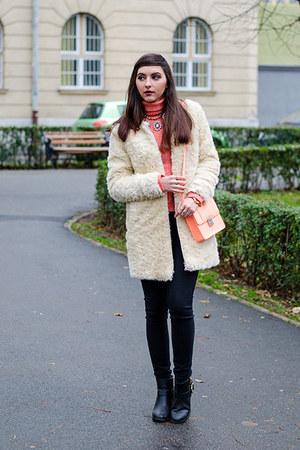 H&M boots - Zara coat - H&M leggings