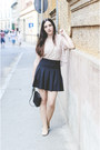 Lace-forever-21-top-zara-skirt-h-m-flats