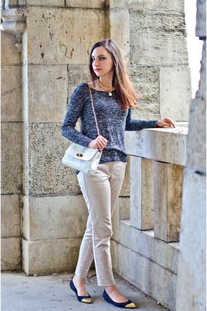 Zara pants - H&M flats