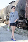 Heather-gray-zara-sweater-black-h-m-bag-black-zara-skirt-navy-zara-heels