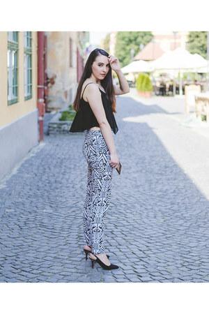 New Yorker top - H&M pants - Zara heels