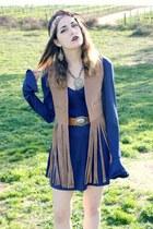 fringe vintage vest - elite99 dress