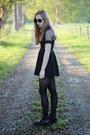 Black-lipstik-shoes-black-dress-sheer-mart-of-china-dress