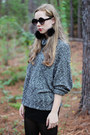 Dark-gray-american-apparel-sweater-black-oasap-sunglasses