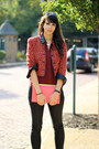 Ruby-red-forever-21-blazer-black-h-m-jeans-crimson-necessary-clothing-shirt