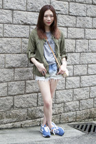 Zara coat - Rodarte shirt - Gucci vintage bag - New Balance 574 sneakers