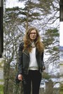 Silver-shiny-asos-boots-black-skinny-monki-jeans-black-amisu-jacket