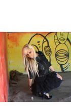 vintage skirt - Asos & Forever 21 accessories - Forever 21 jacket - Forever 21 s