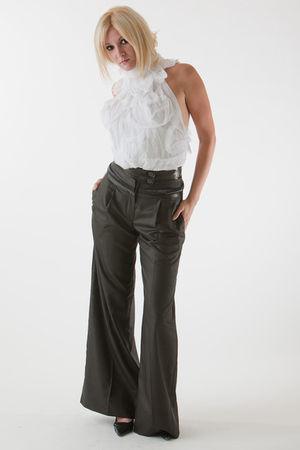white Gloria Coelho top