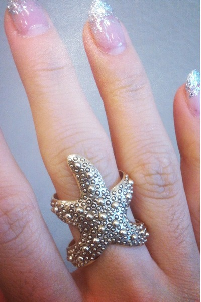 star fish ring SHOPPUBLIKCOM ring
