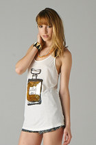white tank PUBLIK dress
