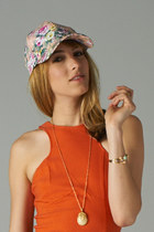 floral print PUBLIK hat
