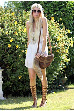 Topshop dress - Jeffrey Campbell sandals