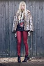 Kooples-boots-biba-jeans-gerard-darel-jacket-ebay-t-shirt