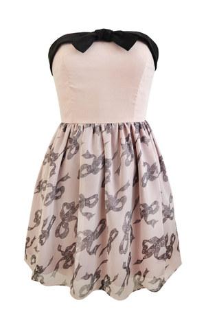 mixed Paisie dress