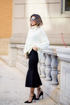 knit The Fifth sweater - flare The Fifth skirt