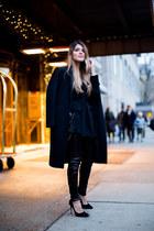 black sequined H&M pants