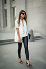 White-worn-as-a-top-forever-21-dress-black-faux-leather-topshop-pants
