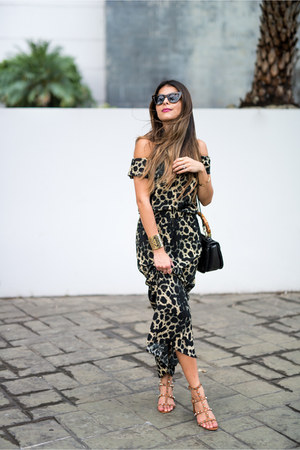 light brown Vero Moda dress