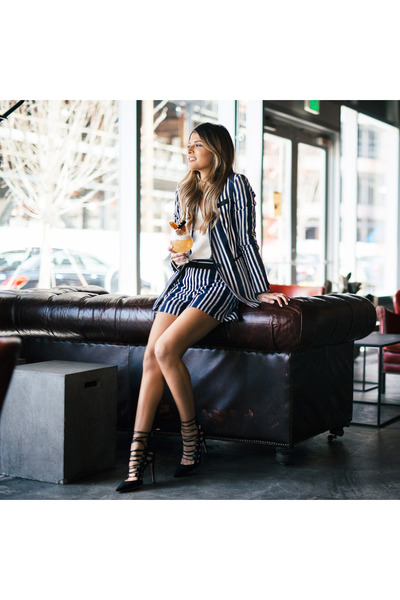 navy striped rag & bone blazer