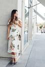Ivory-floral-topshop-dress