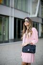 Pink-semi-sheer-bb-dakota-skirt-pink-ruffles-bb-dakota-top