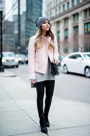 light pink biker asos jacket