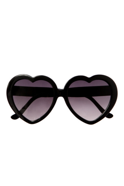 black Urban Outfitters sunglasses