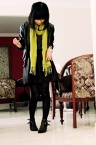 scarf - Josua Andreas jacket - Novo shoes - Moi skirt