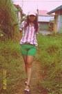 Shorts-blouse