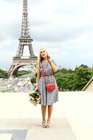 Zara dress - Sophia Webster pumps