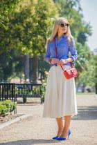 Givenchy bag - asos skirt