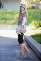 Chanel bag - vince pants